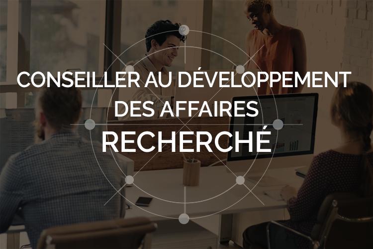 Poste conseiller vente développement affaires