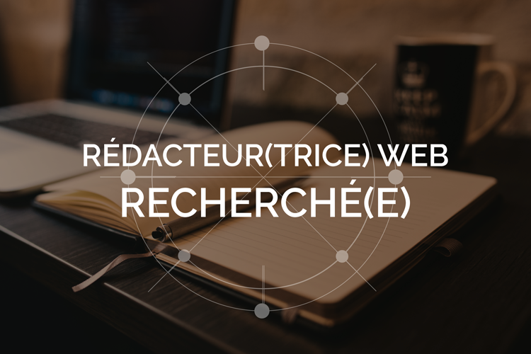 Rédacteur Rédactrice blogue Web