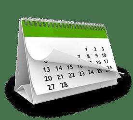 Gabarit de calendrier